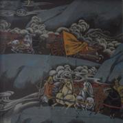 乐山千里马画室油画作品34