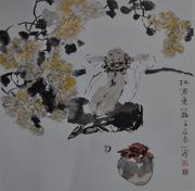 乐山千里马画室国画作品42