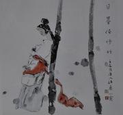 乐山千里马画室国画作品43